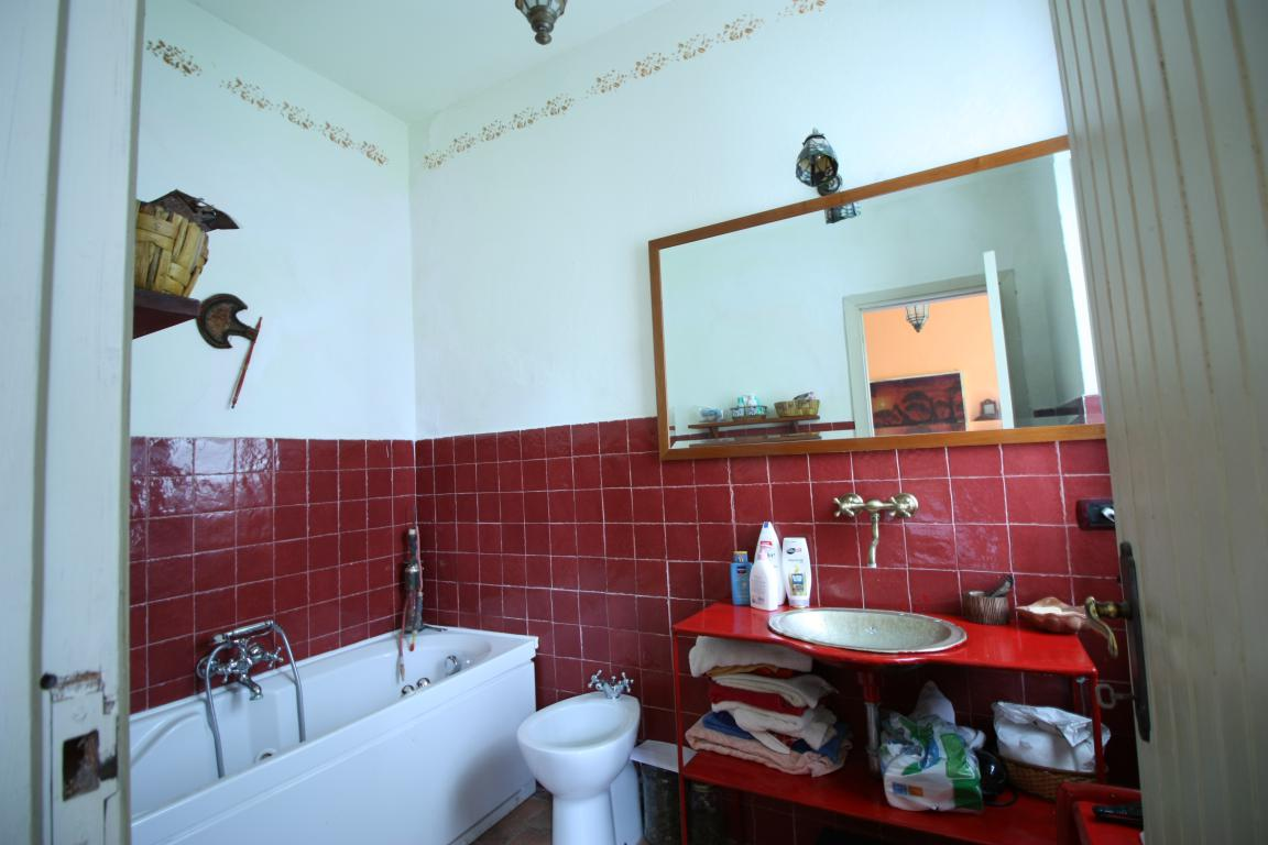 Giove - Casale con piscina - Bagno in camera