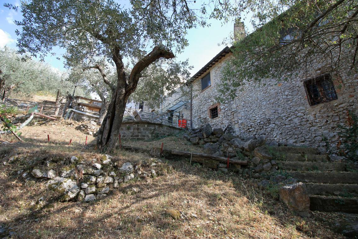 1 - Poggiolo - Calvi dell'Umbria - Esterno Giardino